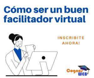 Cursos para facilitadores virtuales